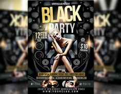 "Check out new work on my @Behance portfolio: ""Black Party Flyer"" http://be.net/gallery/32236569/Black-Party-Flyer"