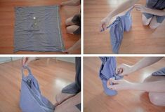 DIY Furoshiki Cloth Bottle Wrap How-To