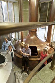 Gäste sind in der Brauerei in Werneck herzlichen Willkommen. - http://www.schweinfurt360.de/  #Bier #Brauerei #Führungen