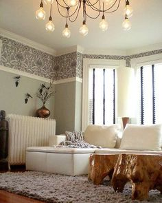 1000 ideas about wallpaper borders on pinterest - Papel empapelar paredes ...