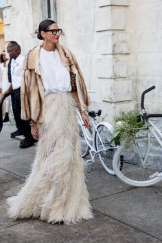 Jenny Lyons, creative director of J.Crew, perfectly dressed at Solange Knowles' wedding.
