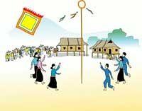 Nem Con - Vietnamese Folk Games