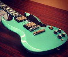 Custom SG in Inverness Green (do you think Gibson have ever been there?)
