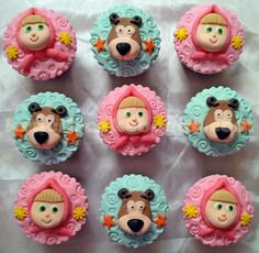 masha and the bear cake - Buscar con Google