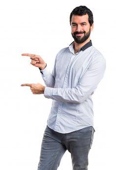 Man pointing to the lateral Free Photo Free Stock Photos, Free Photos, Social Media Marketing, Digital Marketing, Photography Poses For Men, Marca Personal, Cristiano, Avatar, Backdrops