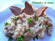 Ni 1, ni 2, ni 3....¡10 recetas de sensacionales risottos!