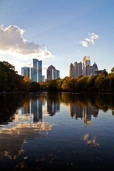 Atlanta Midtown Sun Rays II by Aric Jaye on 500px
