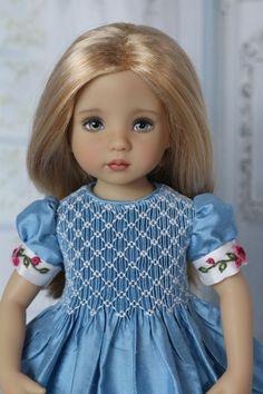 """Blond Wig Size 7-8 for Effner 13"""" Little Darling Dolls  #Unbranded"""