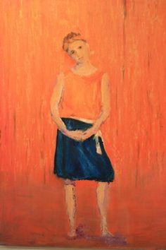 """Saatchi Online Artist stephanie brunton; Painting, """"Dancer"""" #art"""