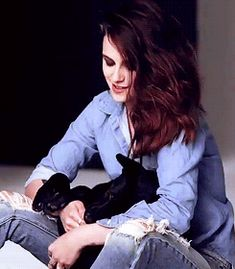 Kristen and Cole, BTS Marie Claire photoshoot - 2014