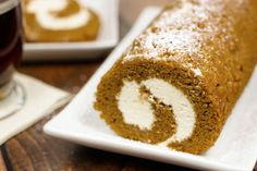pumpkin cream cheese roll recipe - perfect for thanksgiving dessert and SO GOOD!!!
