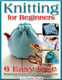 Find a varied collection of free #knitting patterns that are perfect for beginners in our latest eBook: http://www.allfreeknitting.com/Knitting-Tutorials/Knitting-for-Beginners-6-Easy-Free-Knitting-Patterns-for-Beginners-eBook
