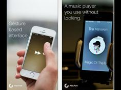 #Listen: the Gesture #Music #Player for #iPhone #App