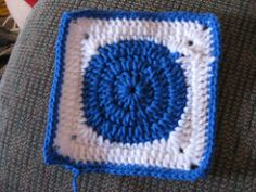 What You Need: small color each of Color A & Color B in worsted weight yarn (I used Red Heart Super Saver in blue and white.) size H crochet hook Notes: ch3 will count as a dc through out patte…