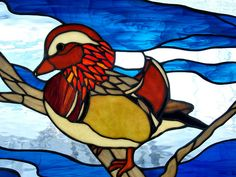 stained glass duck | stained glass duck | Flickr - Photo Sharing!
