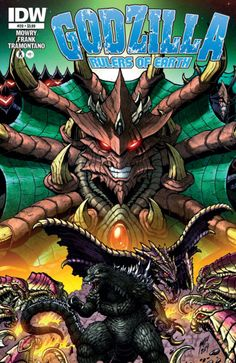 Godzilla: Rulers of Earth #20