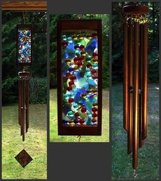 beautiful stained glass windchime! stained-glass
