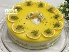 Limonlu Kedidilli Hafif Pasta Summer Dessert Recipes, Delicious Desserts, Fresh Fruit Cake, Light Cakes, Food Club, Pound Cake Recipes, Fresh Fruits And Vegetables, Secret Recipe, Pastry Cake