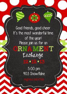 Christmas Holiday Birthday Party by stickerchic on Etsy, $9.50