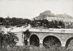 Ilissos bridge in front of Panathinaikon stadium in 1893 Attica Athens, Athens Greece, Old Photos, Vintage Photos, Greece Pictures, Old Greek, Greek History, Historical Photos, City