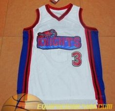 Camiseta Like Mike cambridge  3 blanco malla pano Versión Película  Basketball Movies 2f7b44c5b