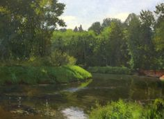 William E. Elston, Bothell Landing, oil on canvas, 30 x 40 inches, ©2014
