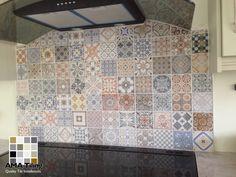 Cooker Splash back completed recently Splashback, Cooker, Tile Floor, Sweet Home, Walls, Flooring, Deco, House Beautiful, Deko