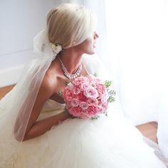 Garden meets ballroom in this super romantic South African wedding. (Credit: Lara Scott)