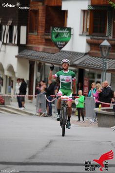 Der Gewinner des Arlberger Bike Marathon 2017. Marathon, Street View, Bike, Bicycle Kick, Marathons, Trial Bike, Bicycle