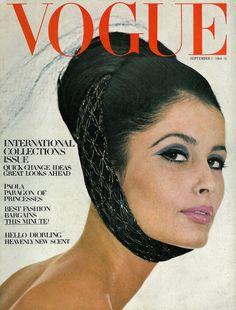 Vogue September 1964 COVER: HenryClarke