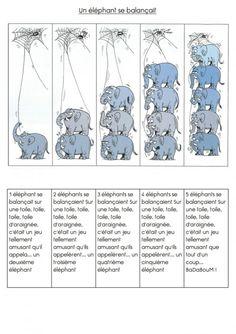 """""""un éléphant se balançait"""" Plus"""