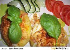 Plněné brambory recept - TopRecepty.cz