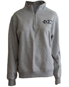 Phi Sigma Sigma Pullover by Adam Block Design   Custom Greek Apparel & Sorority Clothes   www.adamblockdesign.com