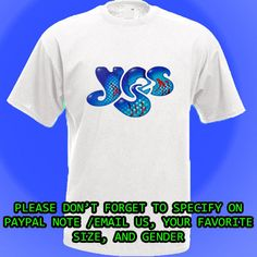 Yes 2014 Concert Tour Dates Rock Band White T-Shirt S M L XL 2XL #Tshirt #PersonalizedTee #yes #rock #band #rockband # music