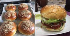 A hamburger zsemle receptje, el se tudom mondani, mekkora sikere lett! Food Porn, Hungarian Recipes, Winter Food, Bread Baking, Food Videos, Food Inspiration, Baking Recipes, Hamburger, Breakfast Recipes