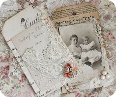* Schlaflos in NRW *  Beautiful example of antique photo display