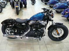 harley forty eight cancun blue - Google Search