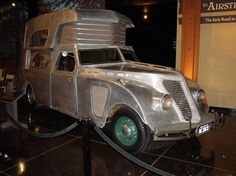 Art deco styled motor home....