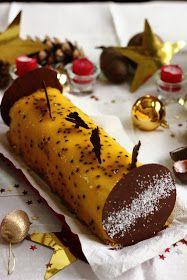 Bûche exotique, mangue - passion insert fruits rouges         Voila, le temps des fêtes est passé ! Mais pourquoi devrait t'on forcément fa...