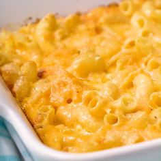 This EXTRA creamy Mac and Cheese Recipe from Paula Deen can be baked in the oven or made in the Crock Pot. PLUS, you can make it up to two days ahead of time! mac and cheese recipe baked macaroni Creamy Mac And Cheese, Mac And Cheese Homemade, Oven Mac And Cheese, Velveeta Mac And Cheese, Mac And Cheese Recipe Baked Soul Food, Creamiest Mac And Cheese, Cracker Barrel Mac And Cheese Recipe, Simple Mac And Cheese, Mac And Cheese Recipe Pioneer Woman