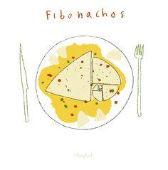 fibonacchos...      fibonacci nacho      The golden cheese ratio.