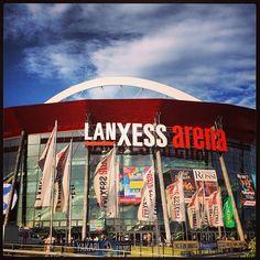 LANXESS arena itt: Köln, Nordrhein-Westfalen