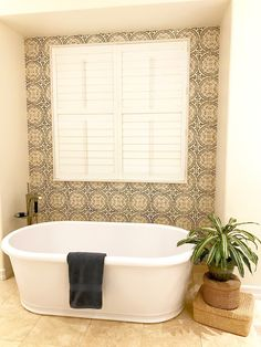 classic • casual • home: MASTER BATH BEFORE/AFTER: Fresh Mediterranean