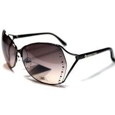 DG191 S2 DG Eyewear Gorgeous and Elegant Rhinestones Accents Women's Sunglasses with Protective Soft Pouch DG Eyewear. $24.95