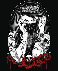 Vendetta Brand Ilustracion