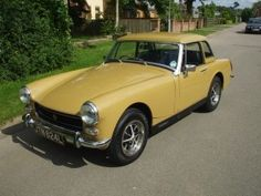 1972 Mg Midget-Another fun car happy times