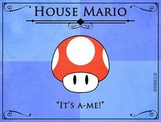 Y si Mario viviera en las tierras de Juego de Tronos