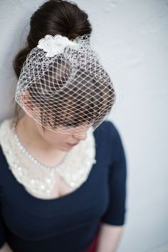 DIY Birdcage Veil - Simple Project Instructions and Images