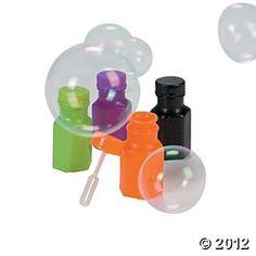 Halloween Bubble Bottles - Oriental Trading