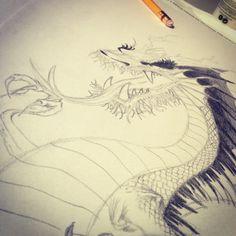 Dragón sin detalles de sombra